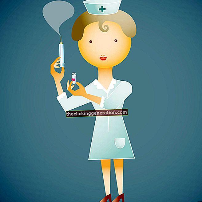 Definition af sygeplejerske