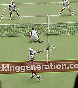 Definition af tennis