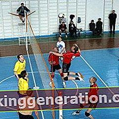Definition af volleyball