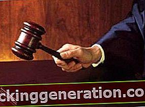 Definition af retsvæsenet