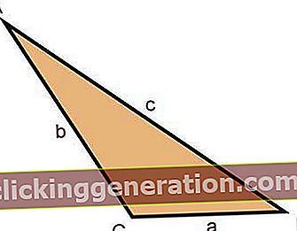 Hva er scalene trekant