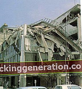 Definícia zemetrasenia