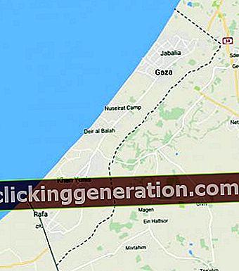 Pásmo Gazy - definícia, koncept a čo to je