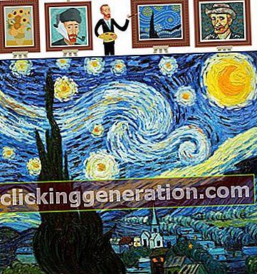 Hvad er den stjerneklare nat (maleri)