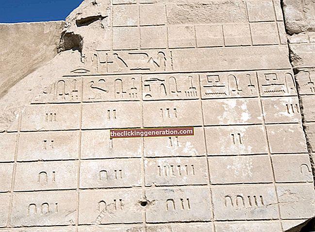 Definition af egyptiske tal