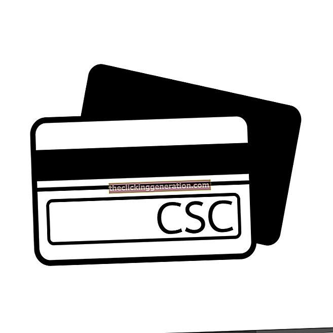 Kartica CSC - Definicija, koncept i što je to