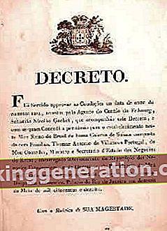 Definition af dekret